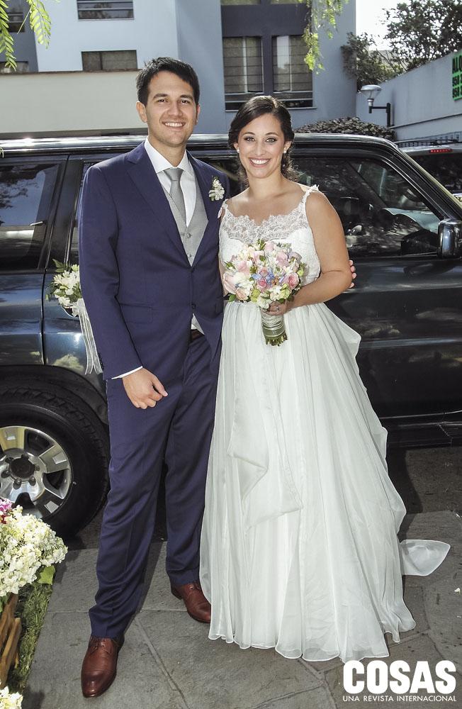 Juan Luis Pacheco y Jeannette Schroth