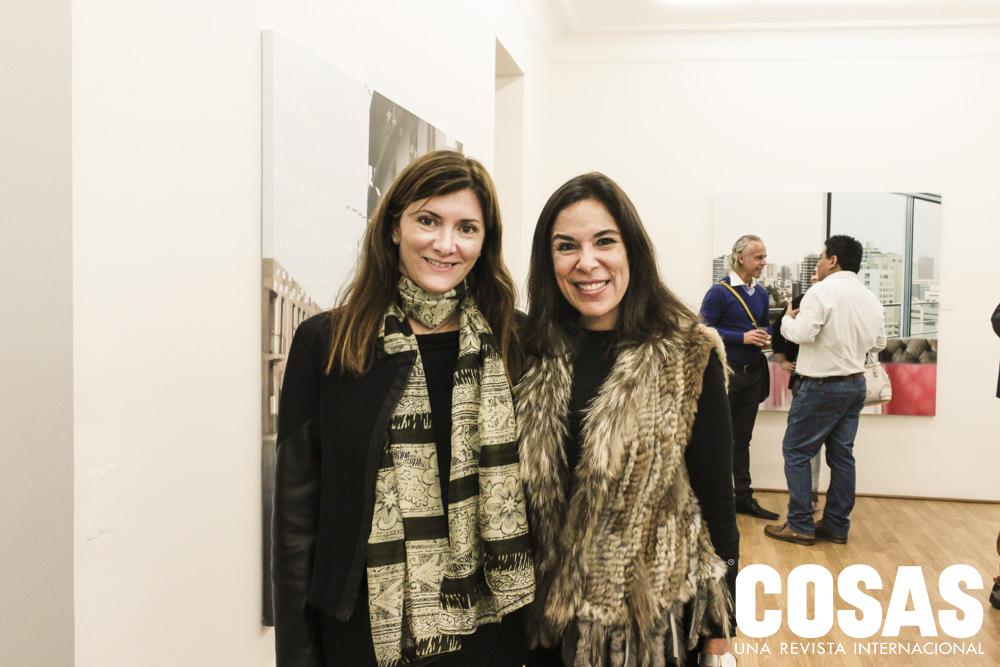 Jessica Scheneider y Cristina Quimper de Trazegnies