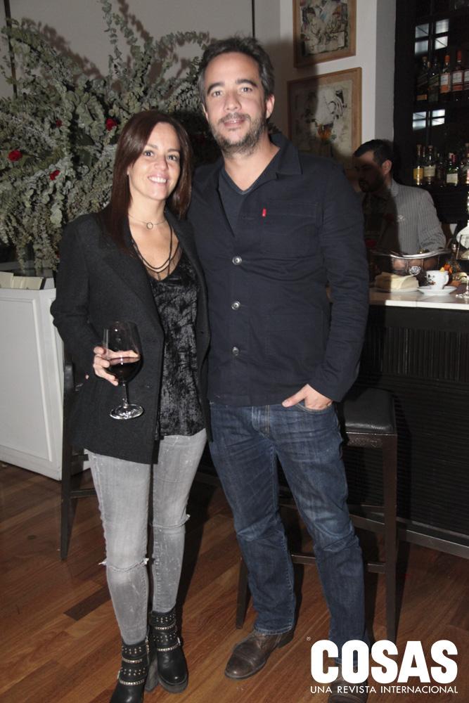 Paola García y Mariano Agramunt