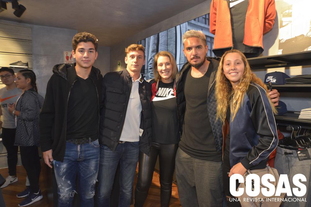 Vasco Chirinos, Rafael De Osma, Mónica Bedoya, Juan Manuel Vargas y Alejandra De Osma.