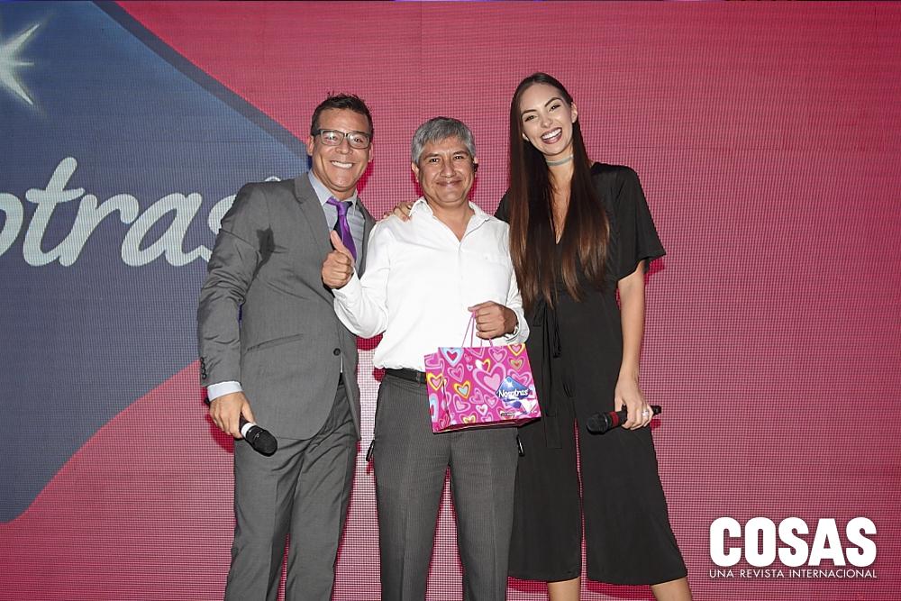 Adolfo Aguilar, Alejandro Espinoza y Natalie Vertiz