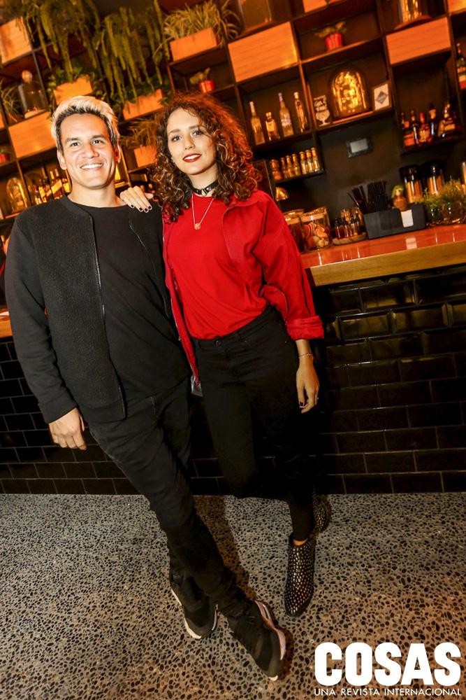 Alejandro León y Gala Brie