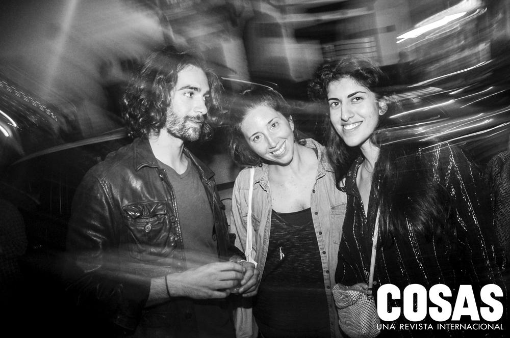 Francesco Giaquinta, Mariana Letts y Mozhdeh Matin.