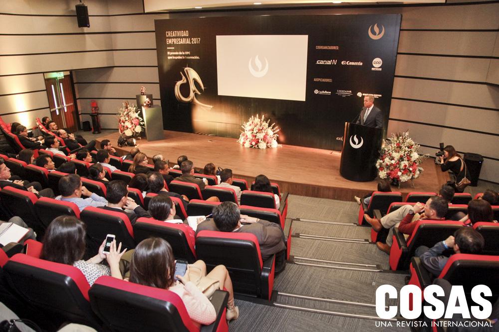 Presentación del Premio Creatividad Empresarial UPC 2017.