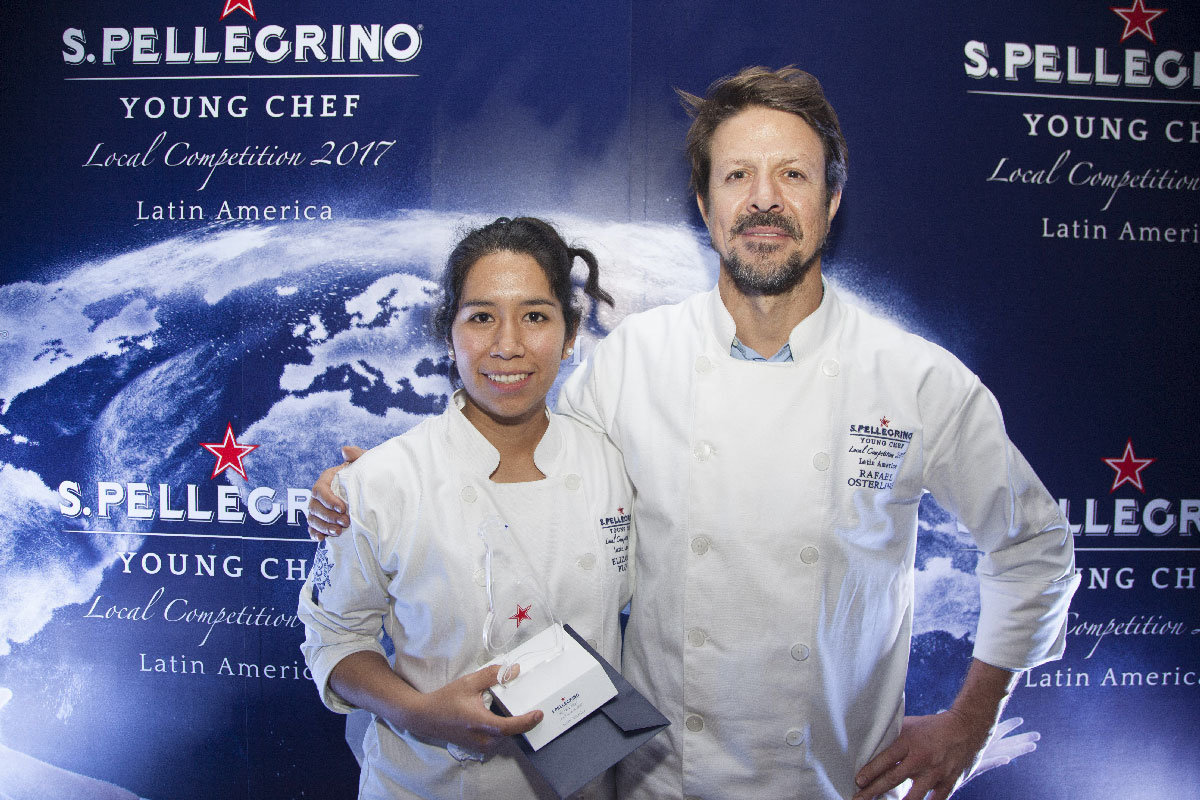 Elizabeth Puquio Landeo y Rafael Osterling