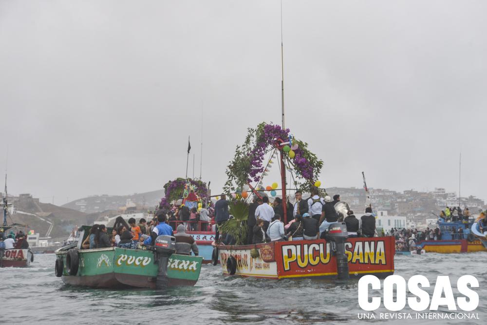 Fiesta San Pedro y San Pabloen Pucusana
