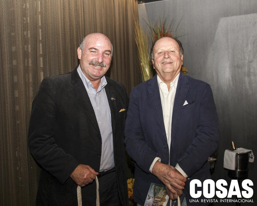 Adolfo Perret y Óscar Velarde.