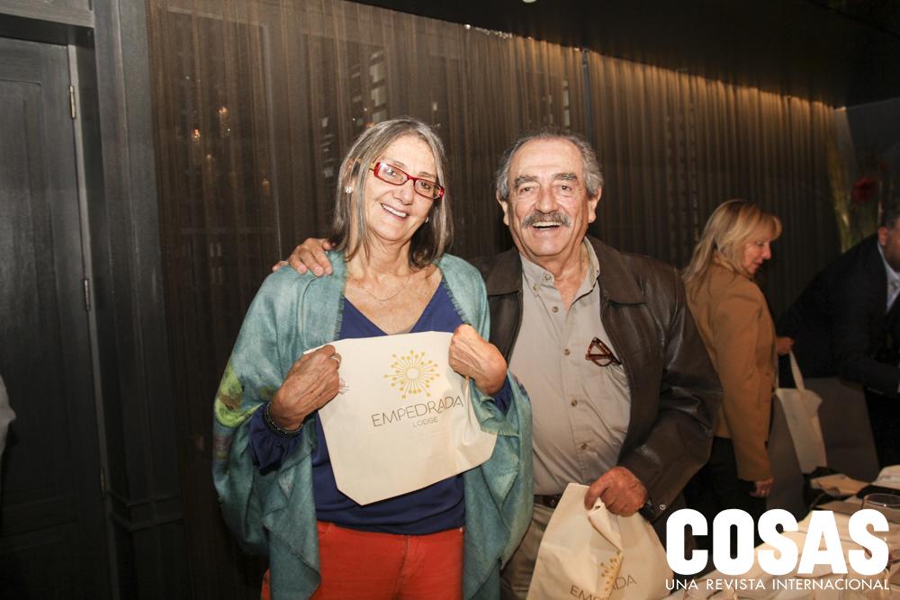 Mariella Balbi y Eduardo Burga.
