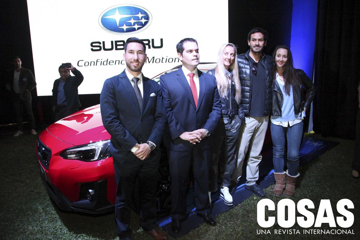 Giancarlo Respaldiza, Juan Felipe Salgado, Vanna Pedraglio, César Bauer y Vania Masías.