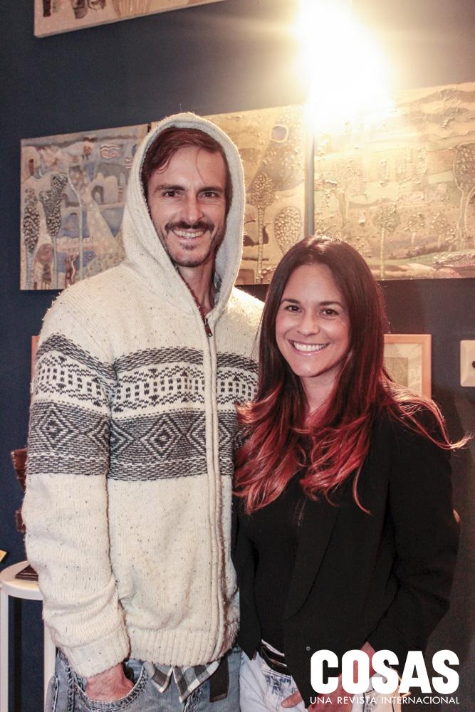 Jonathan Day y Carolina Bedoya