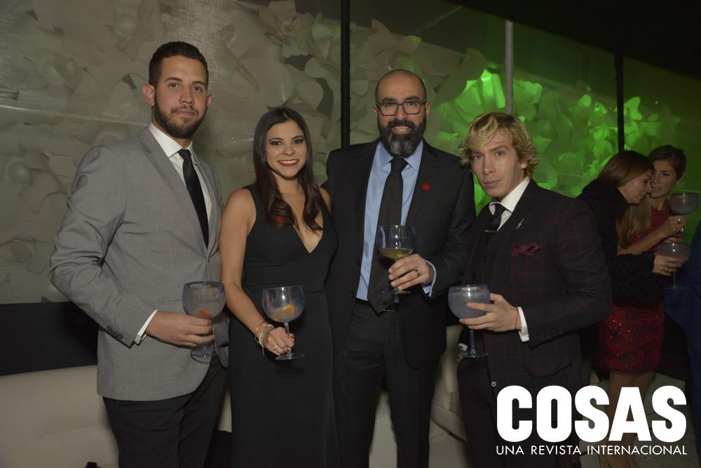 Nelson David, Aracelly Vera, Peco Pizarro y Noe Bernacelli.