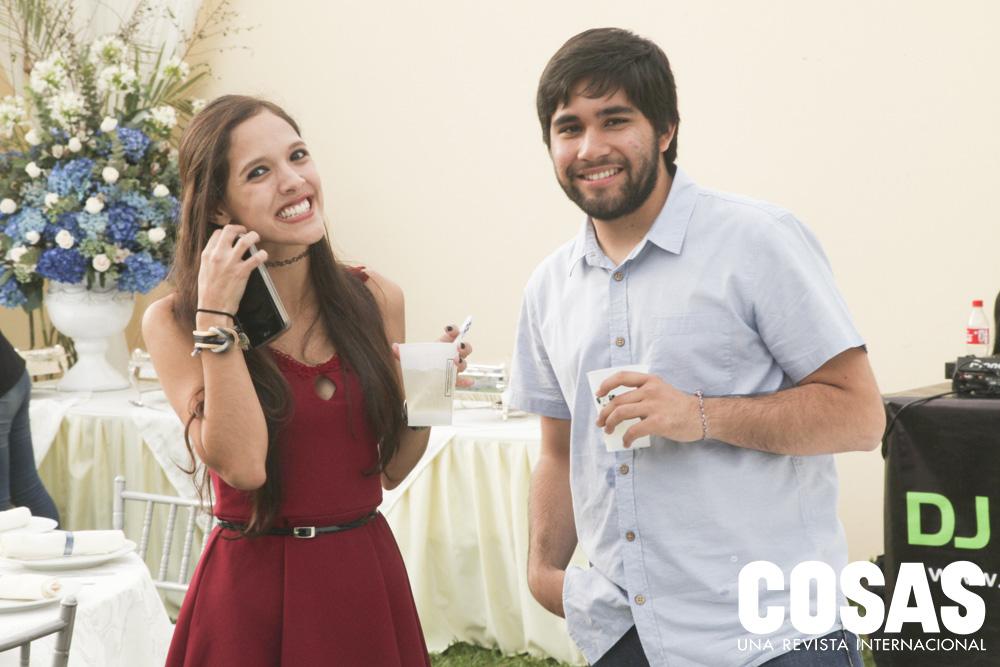 Alessandra Villanueva y Marcelo Roncal
