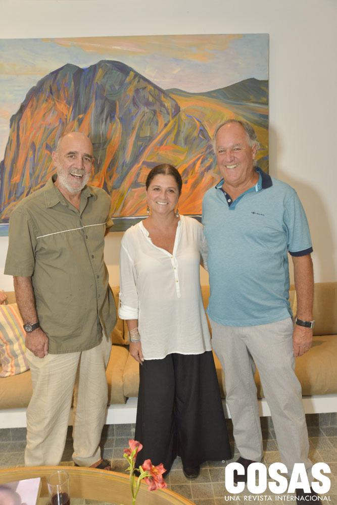 Ricardo Wiesse, Ana Mari Drinot y Alberto Gubbins