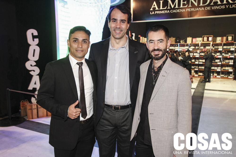 Ronald Pérez, Nicolás Cricco y Manuel González