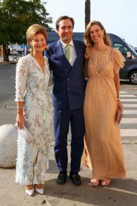 Margarita de Luxemburgo, Emanuele Musini y María Anunciata.