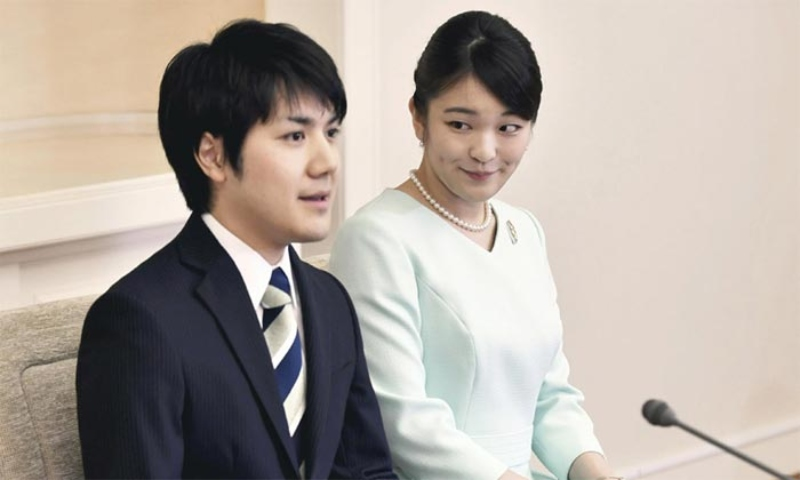 MAKO Y NOVIO EN JAPÓN