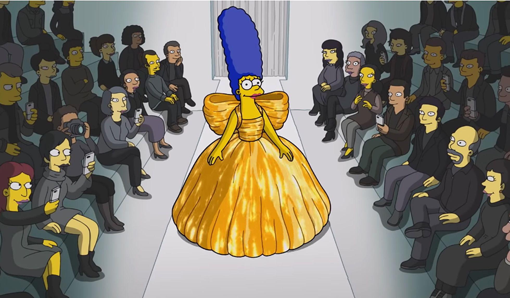 Balenciaga y Simpson